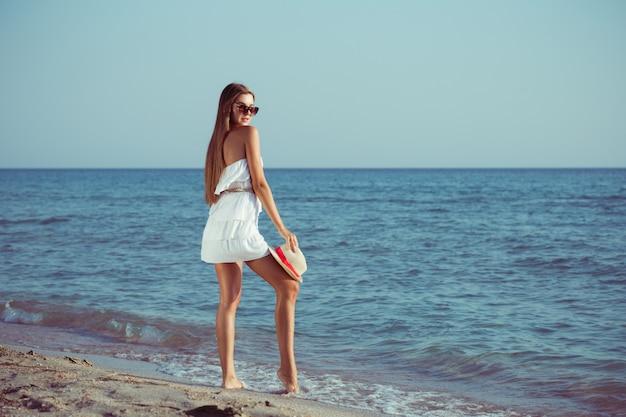 Женщина каникулы лета
