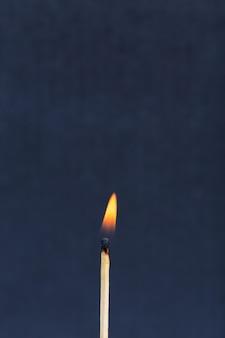 燃える試合