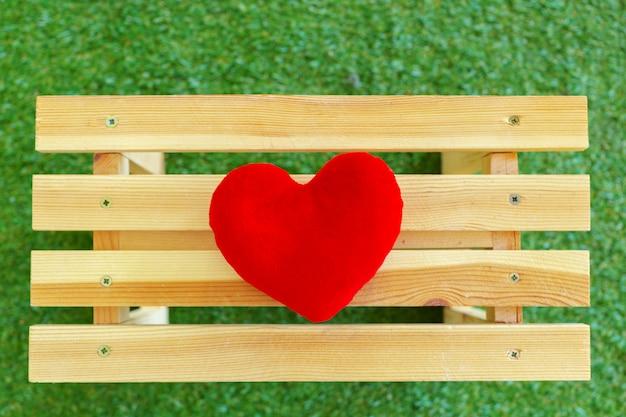 Красное сердце