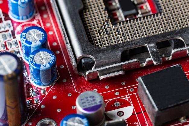 コンピューターのマザーボード