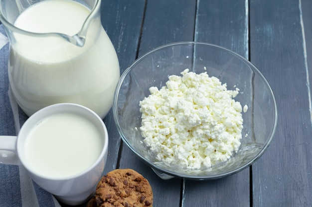 Молоко, творог