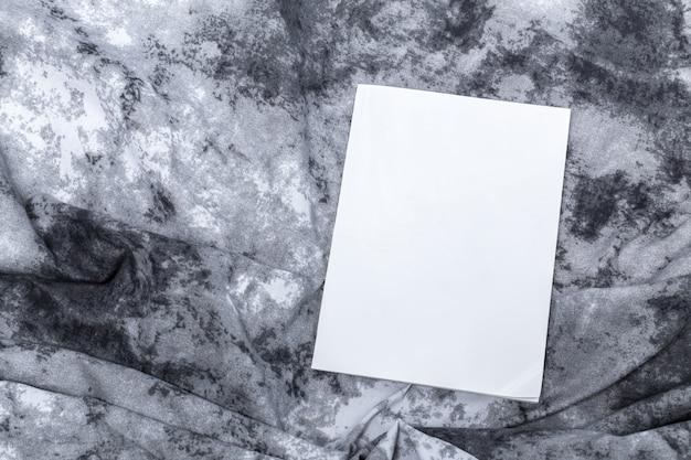 モックアップ、写真用紙、白いシート