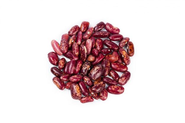 分離された赤豆
