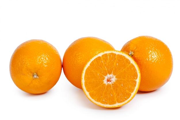 新鮮なオレンジの分離