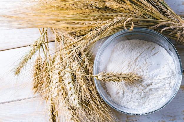 木製の小麦