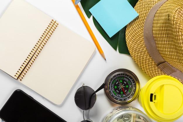 旅行、夏休み、観光、オブジェクトの概念