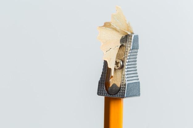 鉛筆削りと鉛筆