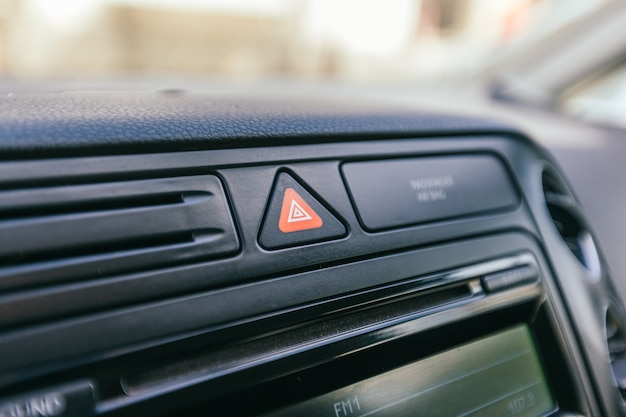 車のインテリアの詳細
