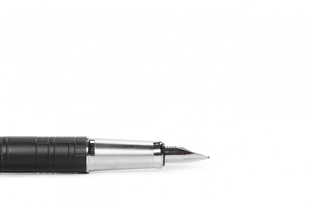 分離された万年筆