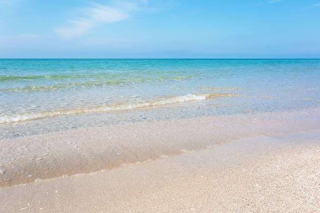 ビーチ海岸の夏休み