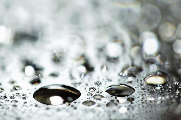 水滴のパターン