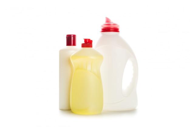 白の家のためのクリーニング製品プラスチック容器