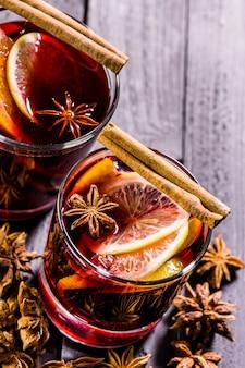クリスマスのグリューワイン