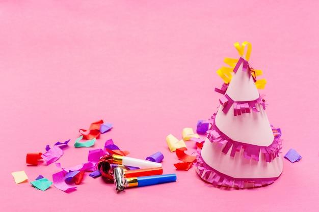 ピンクのパーティーアイテム