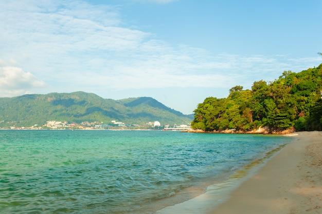 海。熱帯の楽園。