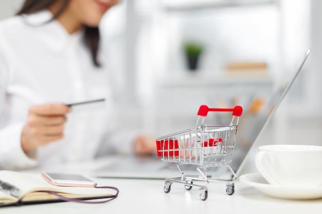 ショッピングとオンライン支払い