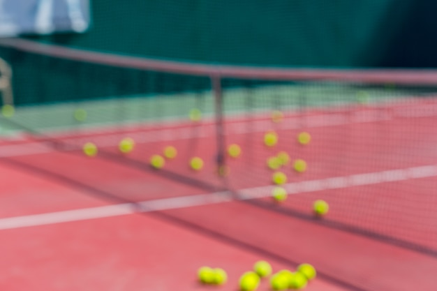 Деталь теннисного корта