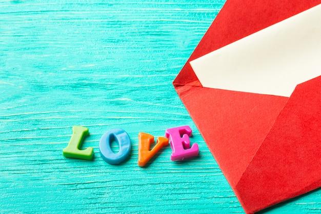 空の紙と赤い封筒