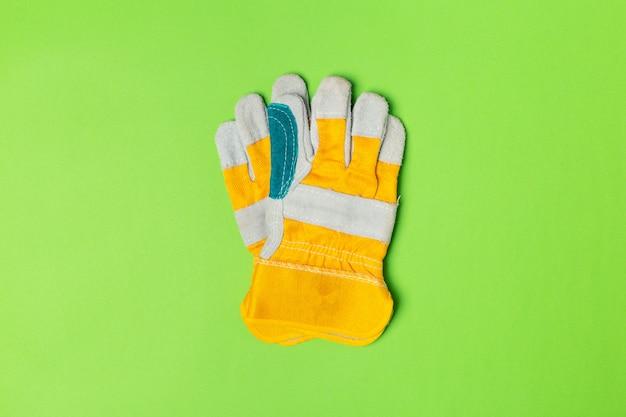 建設安全手袋トップビュー