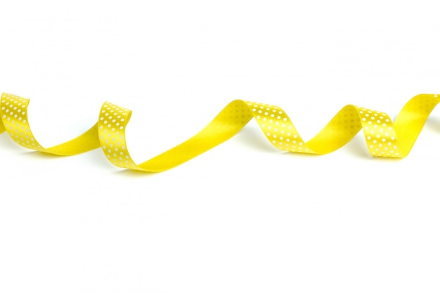Желтые ленты