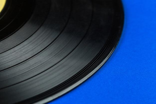 レトロなビニールレコード