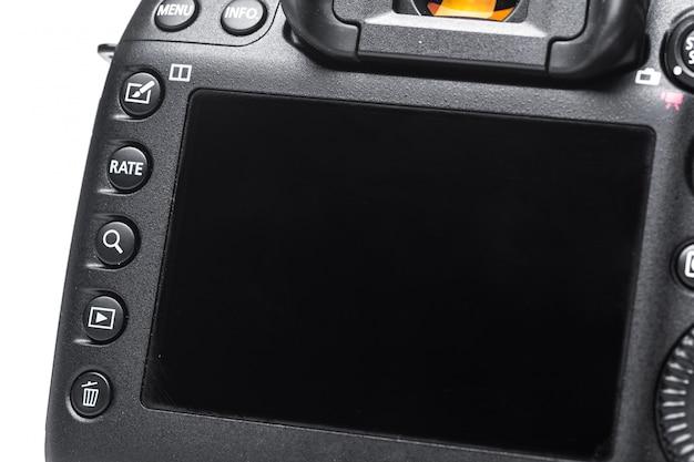 Крупным планом вид цифровой камеры