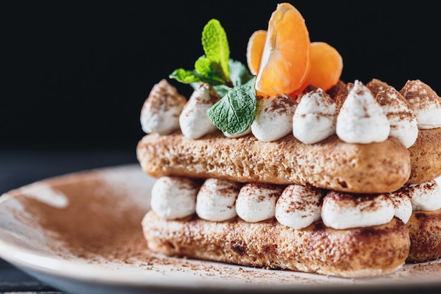 ティラミスデザートケーキ