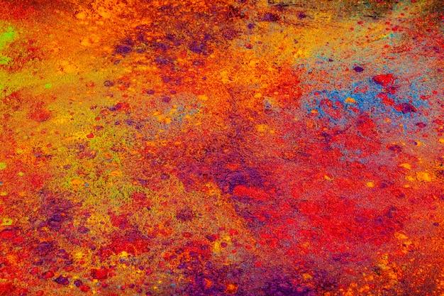 Красочный фон из индийских красочных красок
