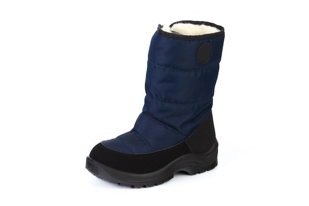 分離された女性の足首のブーツ