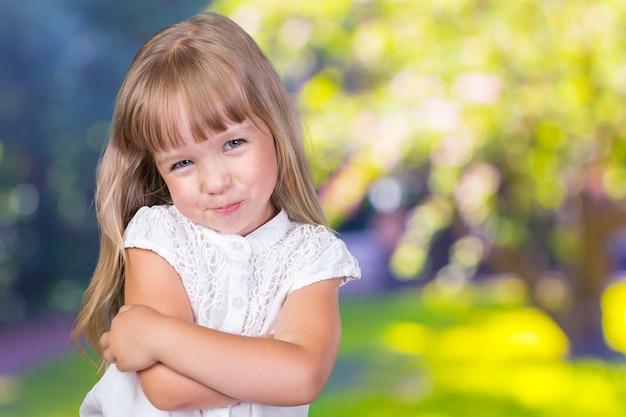 Милая маленькая девочка