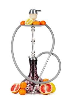 分離された果物と水ギセル