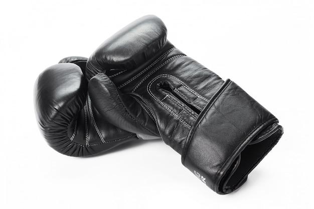 ボクシンググローブをクローズアップ