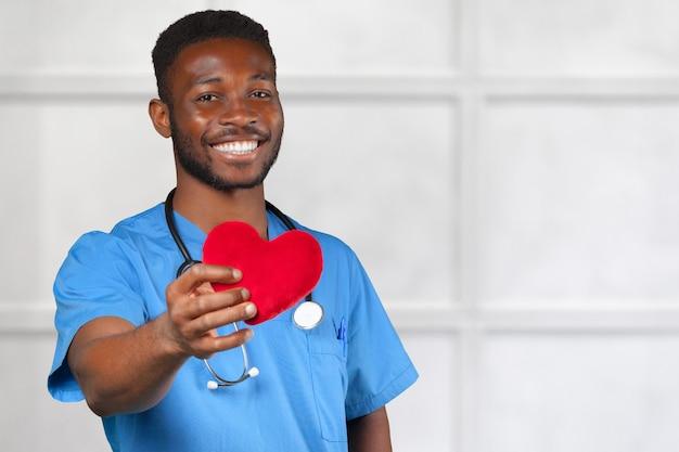 アフリカ系アメリカ人の医師の男