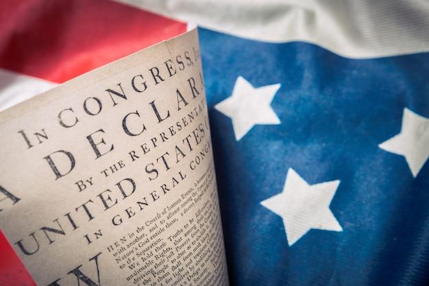 ベッツィーロスフラグに関する米国独立宣言