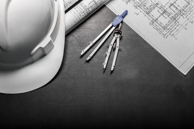 黒の建設計画図面
