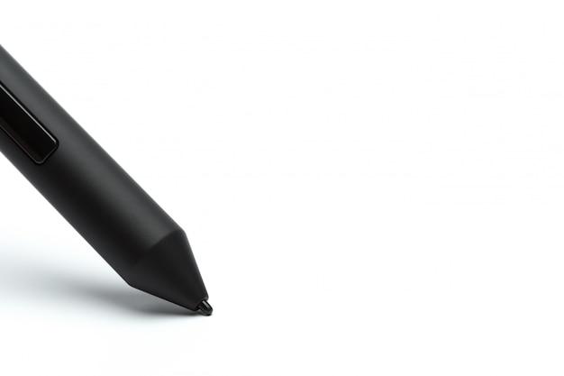 イラストレーターやデザイナー、白い背景で隔離のペン