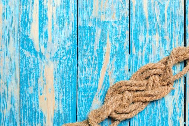 ロープで航海の背景