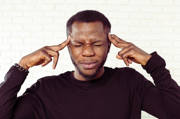 Черный человек устал
