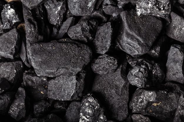 石炭鉱物ブラックキューブストーン