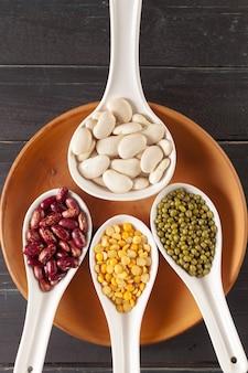 混合乾燥豆