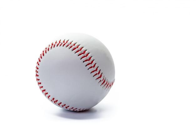 分離された野球ボール