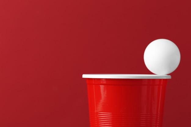 カレッジパーティースポーツ-ビールポン