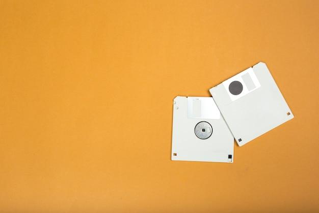 コンピューターのフロッピーディスク
