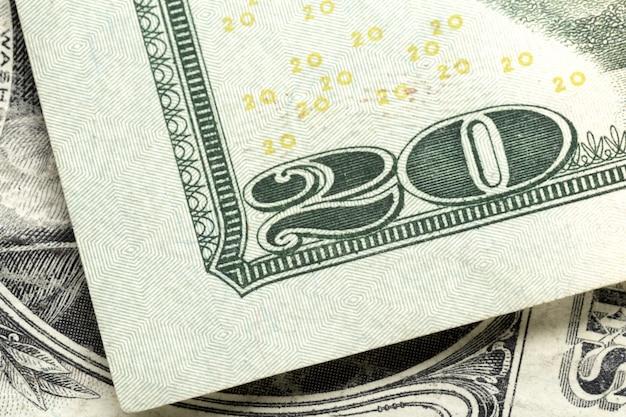 お金をクローズアップ