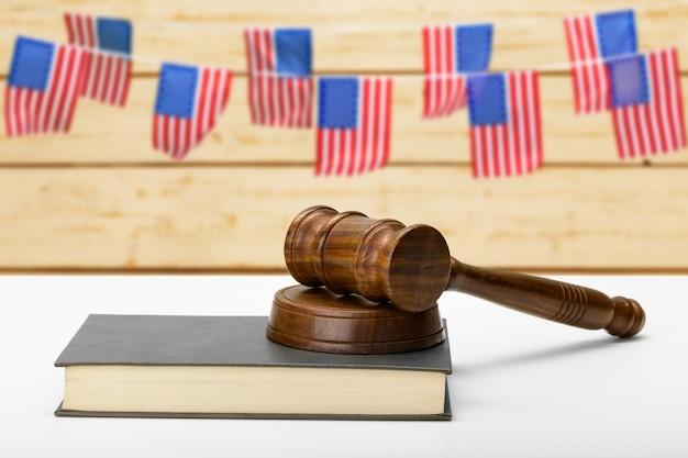 アメリカの法律制度と正義の概念