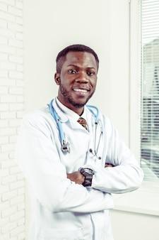 聴診器で医師