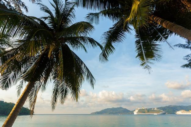 Море. тропический рай.