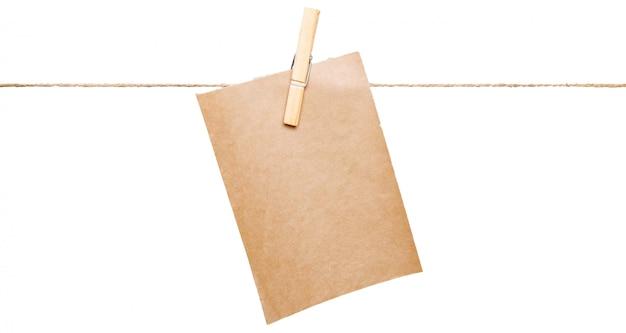 ロープコピースペース上のカード