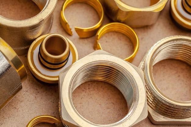 衛生作業用のツールと材料