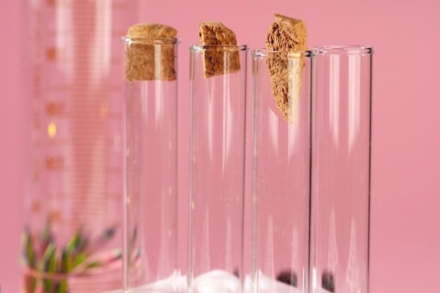 実験室での美容とスキンケアの栄養補助食品の概念研究